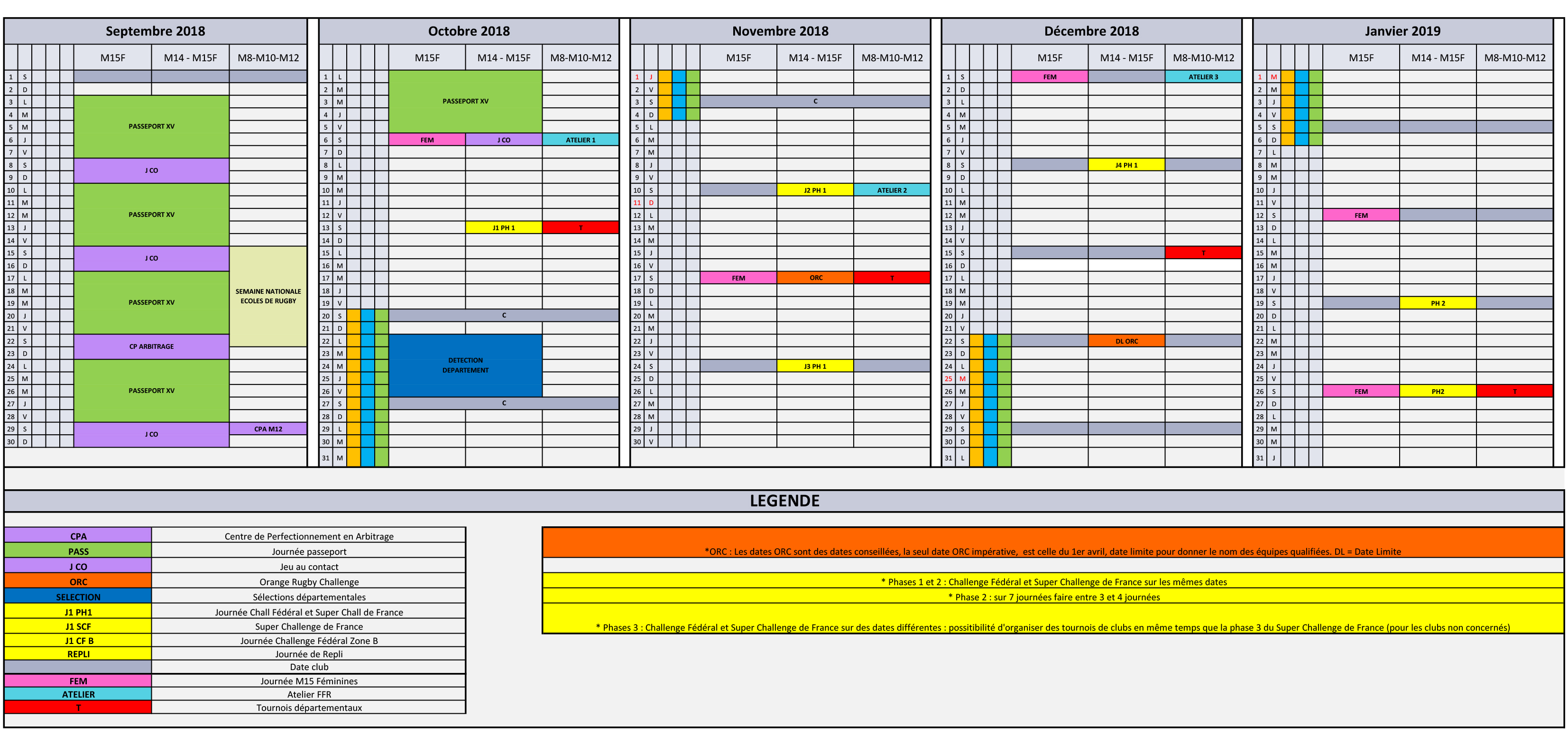 Super Rugby Calendrier.Documentation Federation Francaise De Rugby